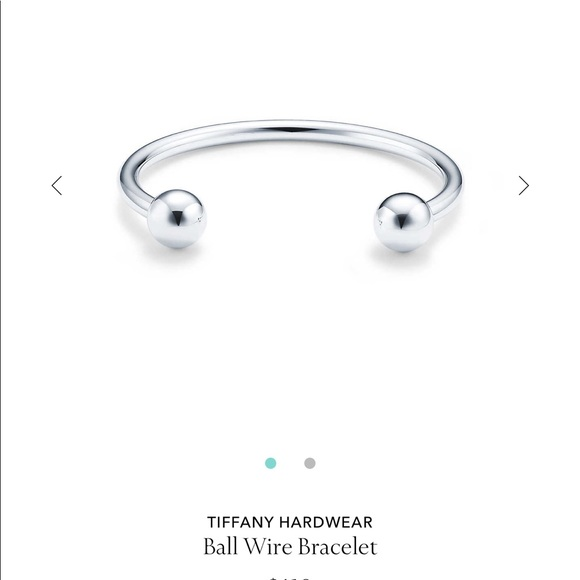 e40d8ba7e Tiffany & Co. Jewelry | Tiffany Co Ball Wire Bracelet | Poshmark